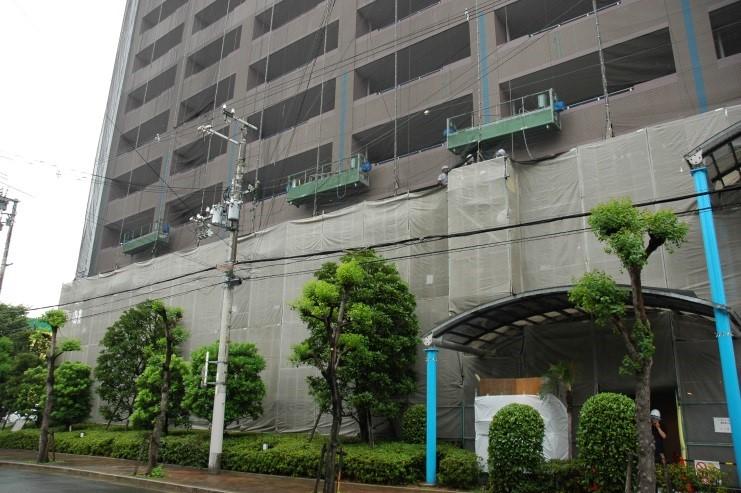 「平成26年度 大規模修繕工事見学会」報告